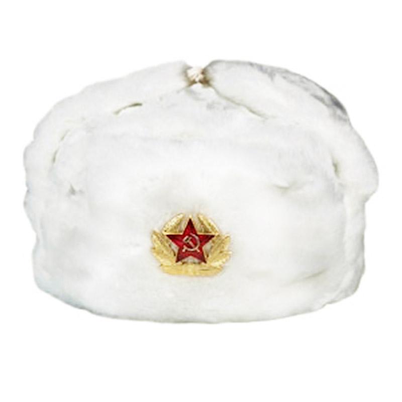 RUSSISCHE USCHANKA PELZMÜTZE FELLMÜTZE ARMEE USHANKA WINTERMÜTZE SCHAPKA УШАНКА