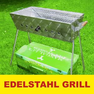 mangal lux edelstahl schaschlik grill 60x33x62x18 cm kaufen online bestellen russische dvd. Black Bedroom Furniture Sets. Home Design Ideas