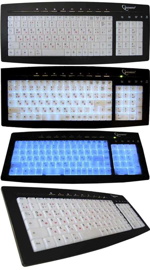 klaviatura nemecko russkaja s podsvetkoj usb. Black Bedroom Furniture Sets. Home Design Ideas