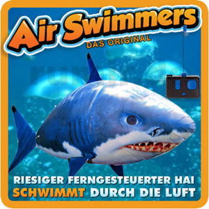 Air Swimmers - Radio Control - Giant Flying Shark