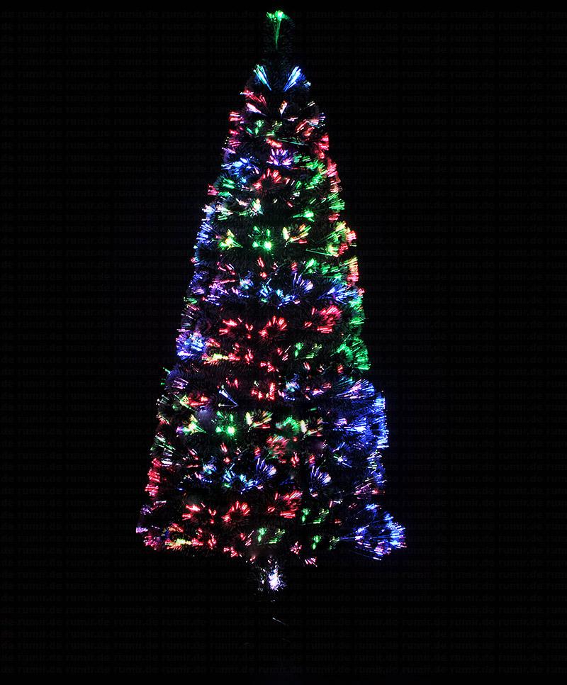 Kunstlicher weihnachtsbaum glasfaser