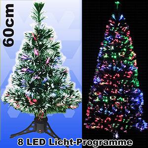 Künstlicher Weihnachtsbaum Mit Licht.Led Weihnachtsbaum 60cm Mit 8 Programmen Farbwechselnden